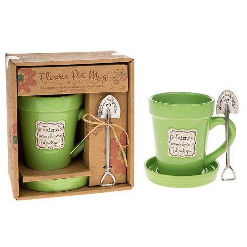 Flower Pot Mug If Friends Were Flowers I'd Pick You
